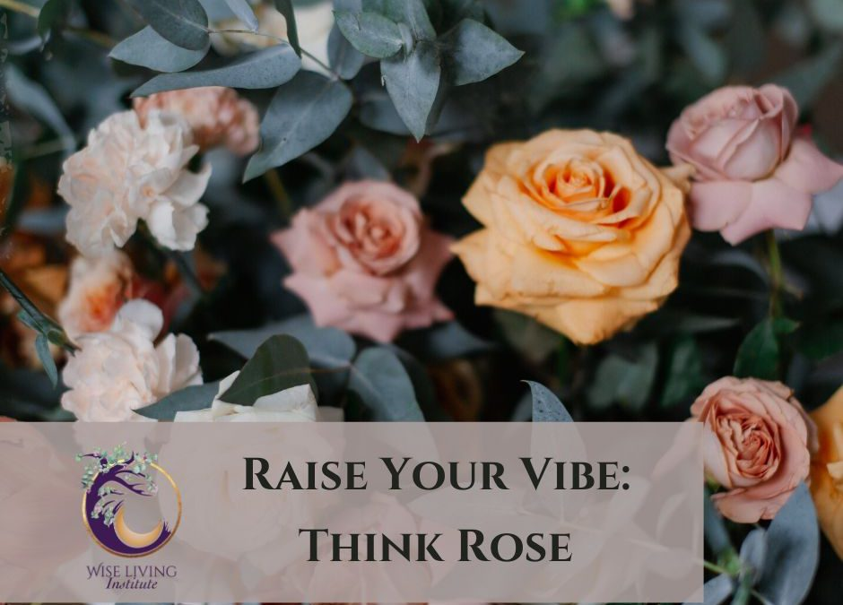 Raise Your Vibration by Thinking of a Rose