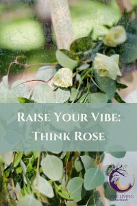 Raise Your Vibration Think Rose
